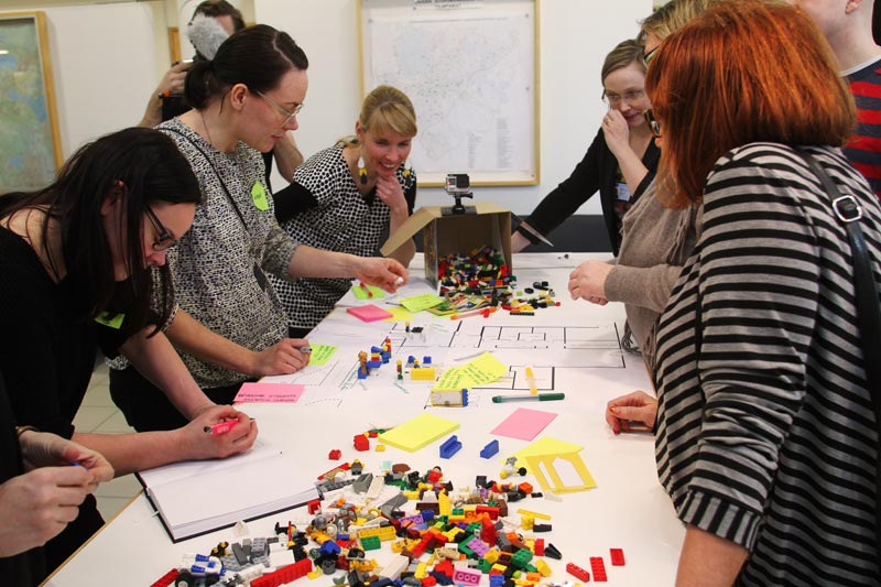 Service design course at Lahti University of Applied Sciences. Photo by Suvi Rusanen.