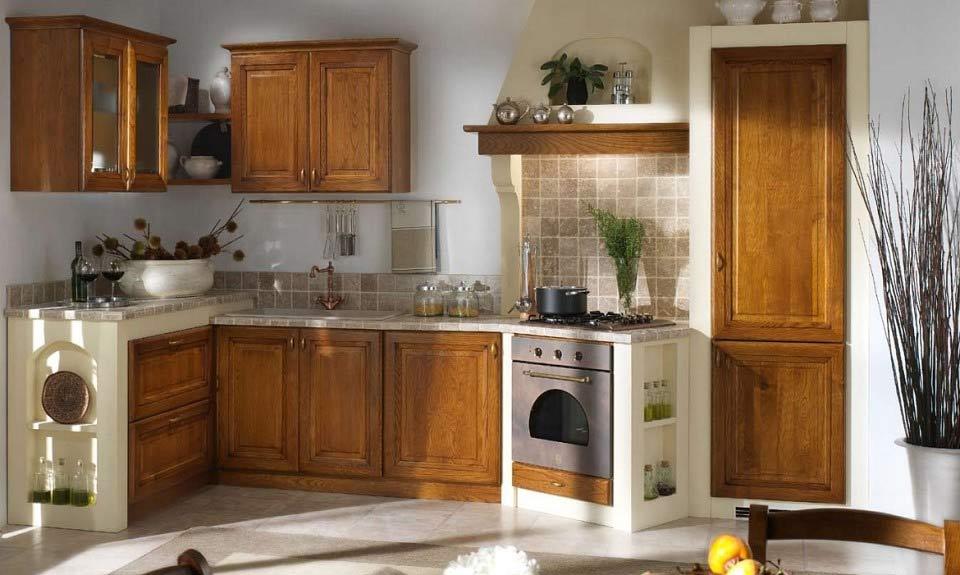 Come Arredare Cucina Soggiorno Rustica | Cucine Classiche ...
