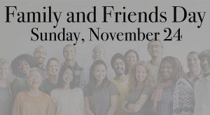 Harvest Family and Friends Sunday