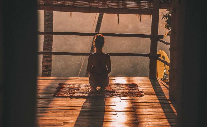 Yoga in Bali, Indonesia
