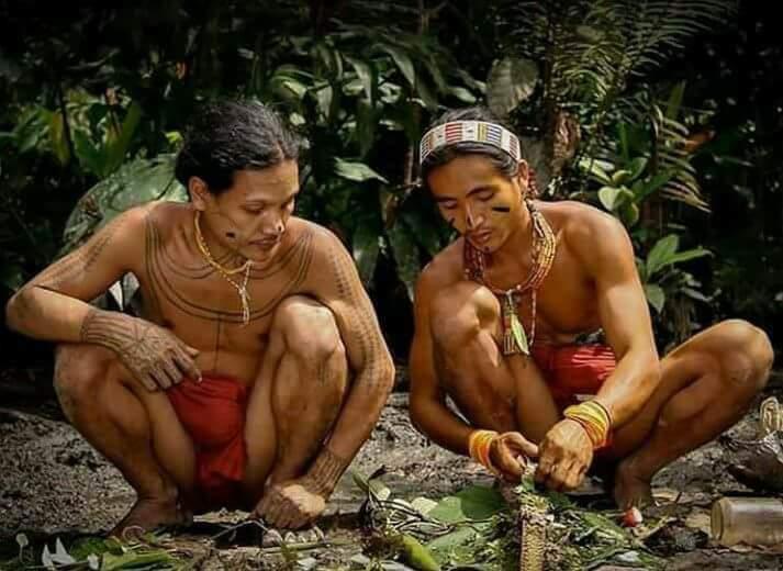 Mentawai tribe indonesian sumatra