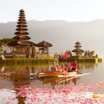 ulun danu lake temple bali indonesia
