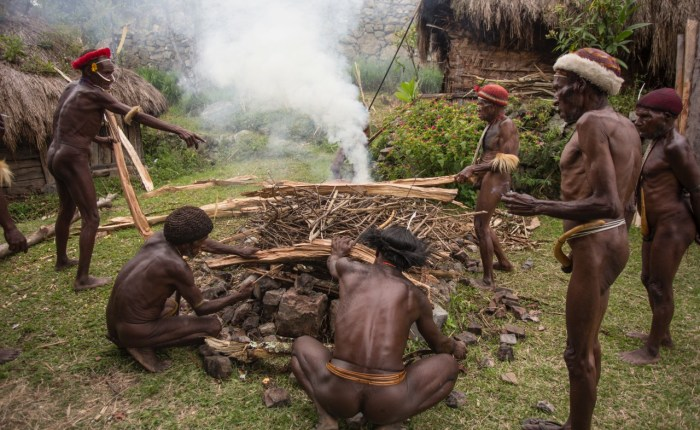 Expediciones y viajes fuera de los batidos de Indonesia