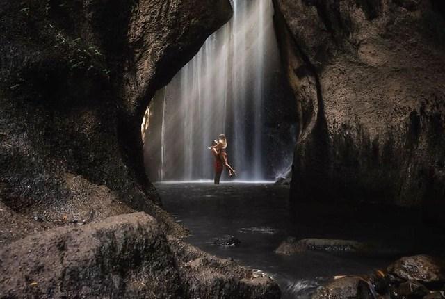 waterfall bali tukad cepung