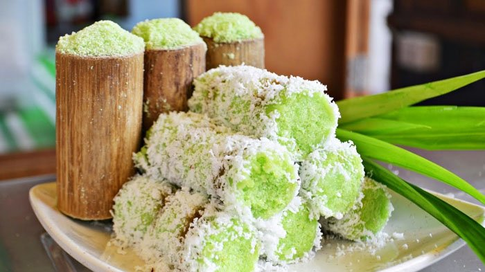 Kue Putu Traditional Indonesian Food