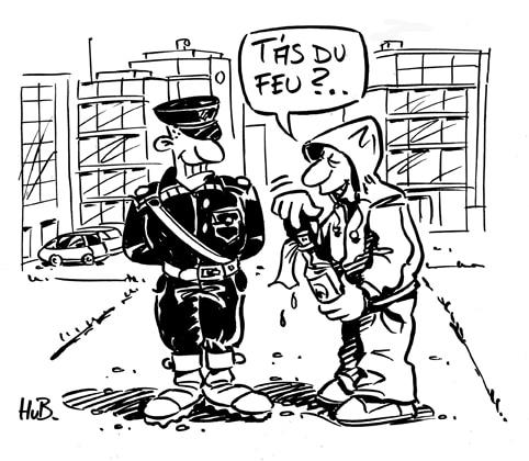 Le retour d'une police de proximité dans les banlieues s