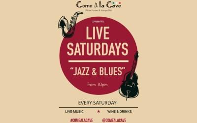Live Saturdays Jazz & Blues