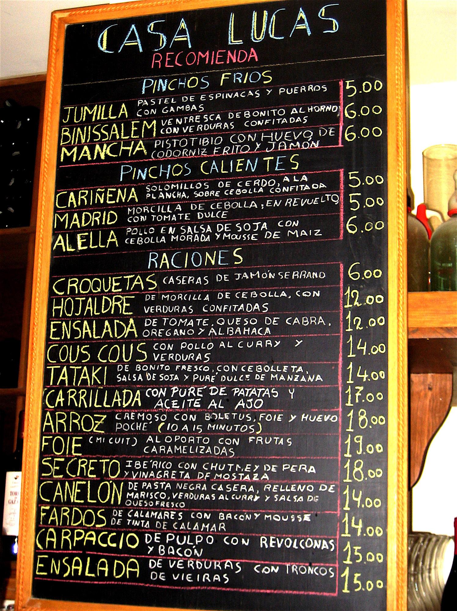 restaurantes Madrid  Come a tu manera