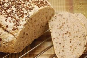 Copie de Pain farine bise graines de lin (4)