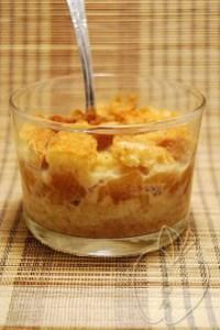 Flan Pudding de manzana y jarabe de arce (1)