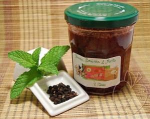 Mermelada de fresas menta y pimienta (4)