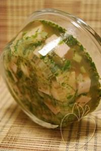 Taquitos de jamón en gelatina de champiñon (11)