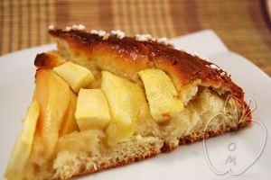 Tarta brioche de manzana y membrillo (20)