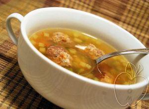 Sopa con albóndigas de castaña (13)