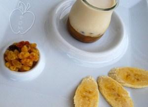 Copie de Yahourt confiture banane rhum aux raisins secs re