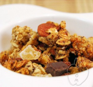 Granola de jengibre chocolate y naranja (5)