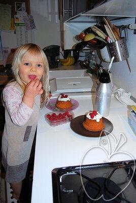 Polyanna y el bundt cake de nata montada (3)