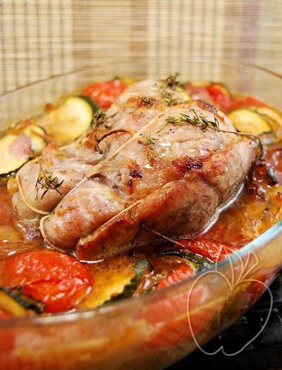 Ternera al horno al estilo mediterráneo (1)