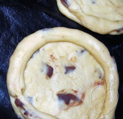 Tarta brioche de peras al vino tinto (3)