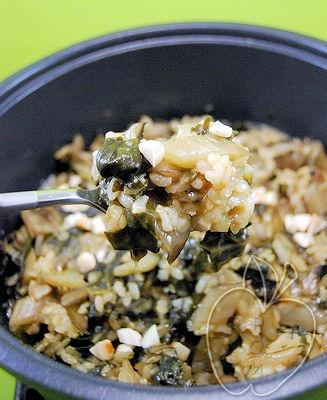 Arroz dulce con acelgas y amaranto (10)