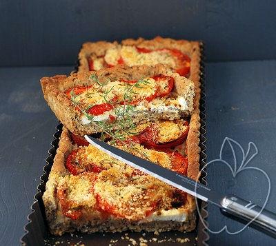 Tarta salada de tomate y ricotta (9)