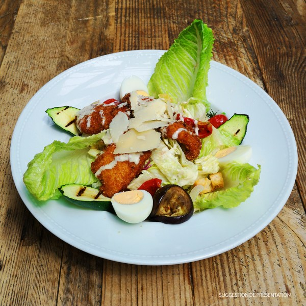 Come Delivery Salade Cesar Come à la Maison Takeaway Delivery Luxembourg