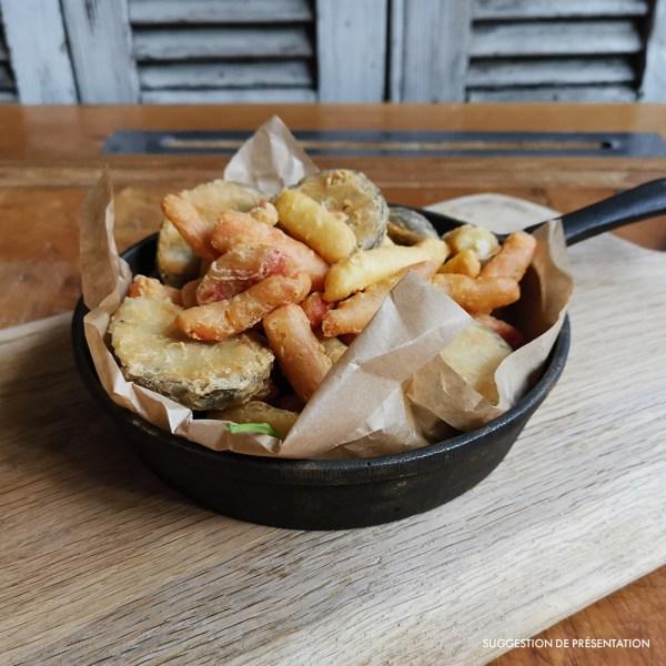 Legumi gran fritto misto Come Delivery Come a la Maison Food Delivery and Takeaway Luxembourg