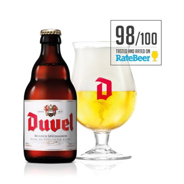 Come Delivery Duvel Come à la Bière Come à la Maison Delivery Take Away Luxembourg 2