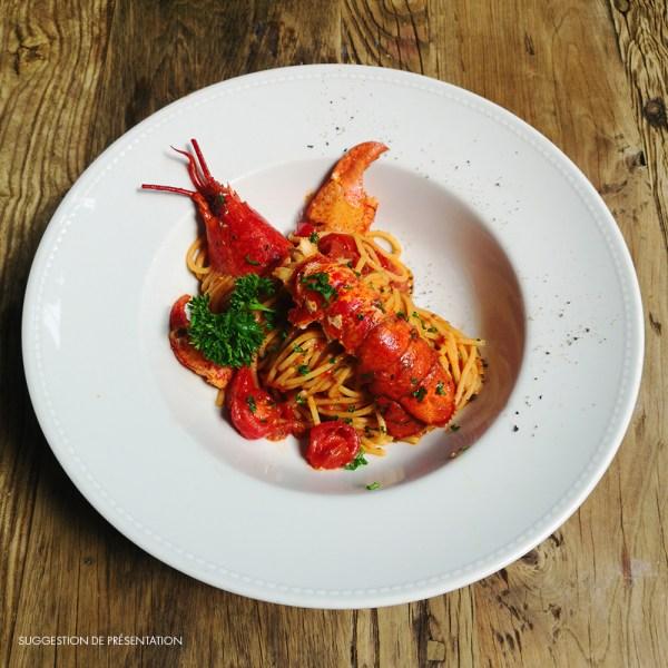 Come Delivery Spaghetti Homard Come à la Maison Delivery Take Away Luxembourg 1