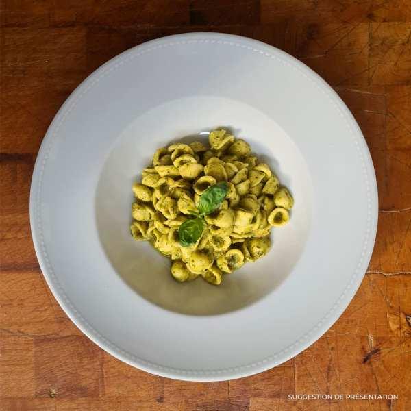 Orecchiette al pesto genovese Pasta Classica Come Delivery Come a la Maison Delivery Luxembourg