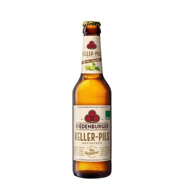 riedenburger keller pils naturtrueb bio bier 1