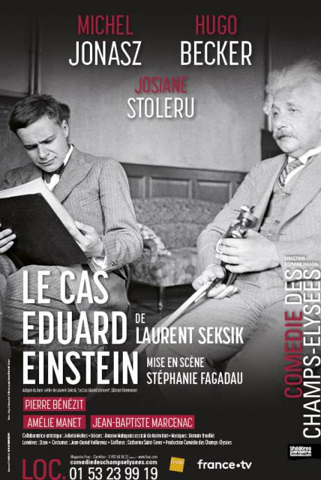 Le Cas Eduard Einstein Theatre : eduard, einstein, theatre, Eduard, Einstein, Laurent, Seksik