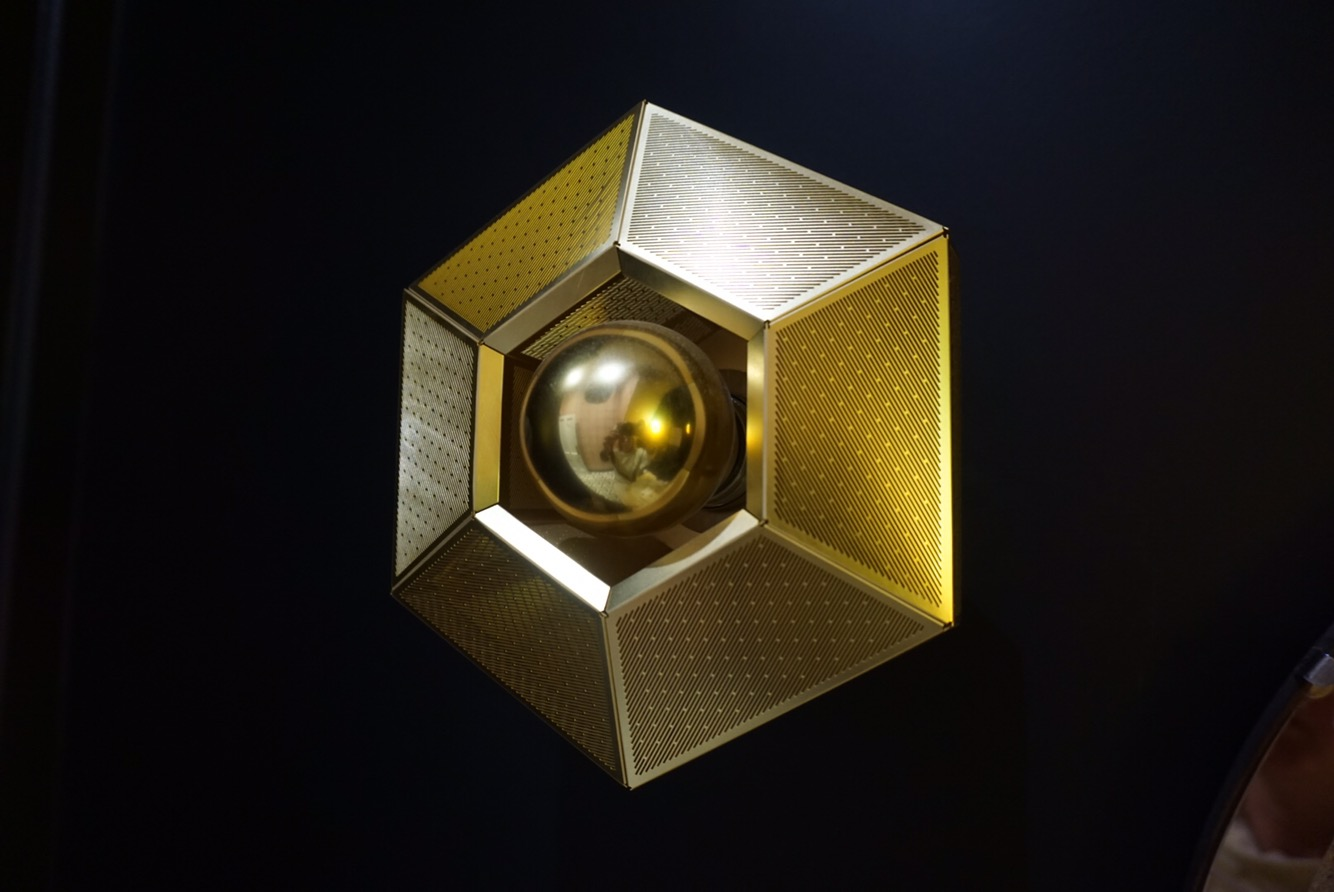 Etch wall light by Tom Dixon