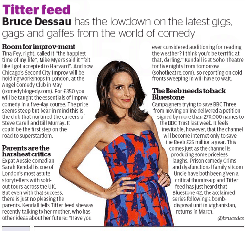 Evening Standard - Second City