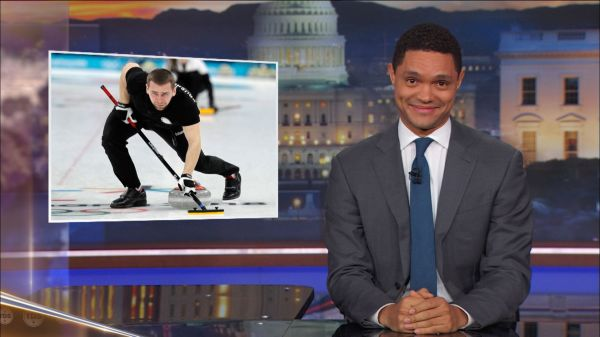 'roided Curling - Daily Show With Trevor Noah Video Clip Comedy Central