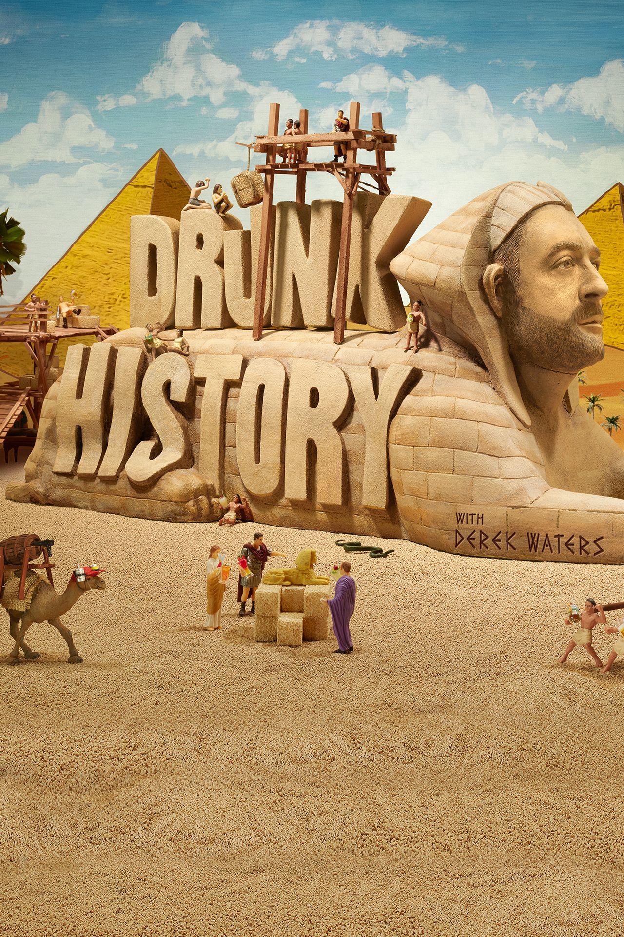 Drunk History Series Comedy Central Official Site Cc