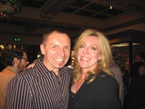 Betsy Baytos and Andreas Dejas