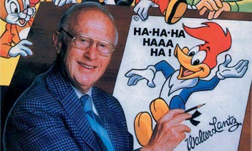 Walter Lantz and Woody Woodpecker.
