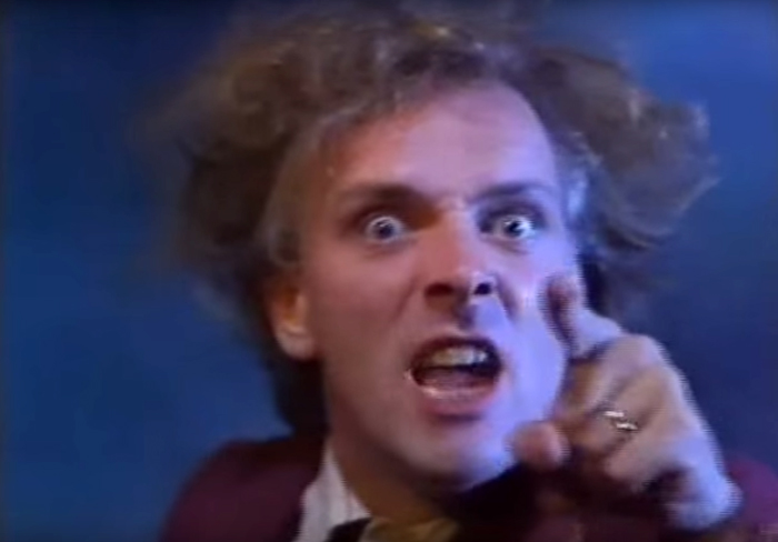 Rik Mayall, pitching stories in Grim Tales