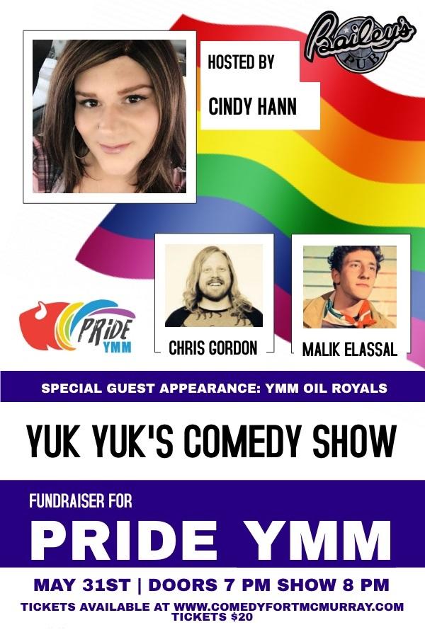Yuk Yuk's Comedy Show @ Bailey's Pub | Fort McMurray | Alberta | Canada
