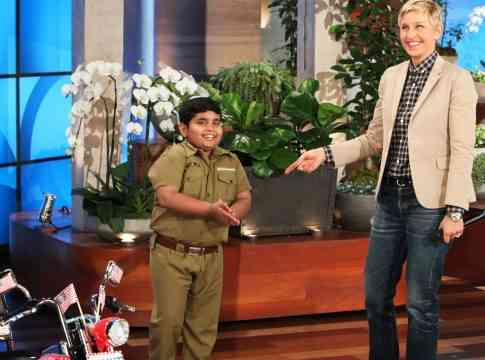 Akshat Singh Performs on Ellen Show