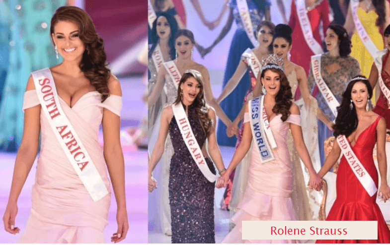Rolene Strauss - South Africa