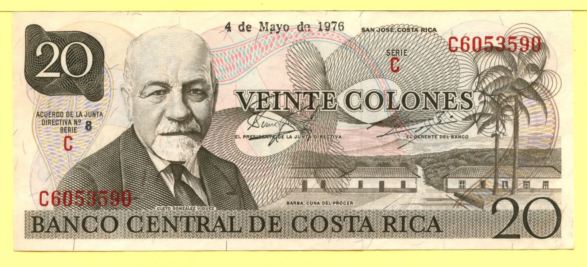 currency Costa Rican Colon