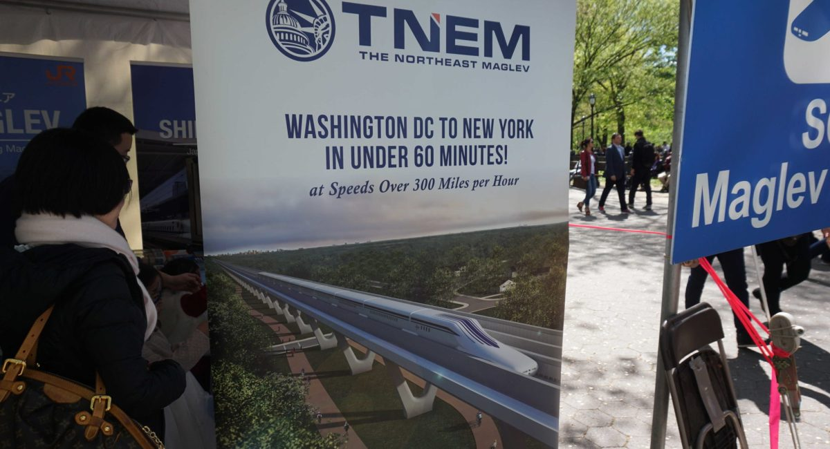 Bullet Train Comes to New York!