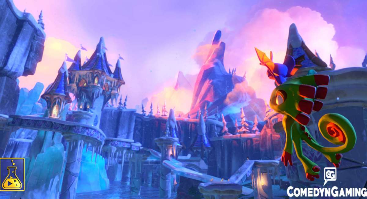 Yooka Laylee New Trailer and Release date