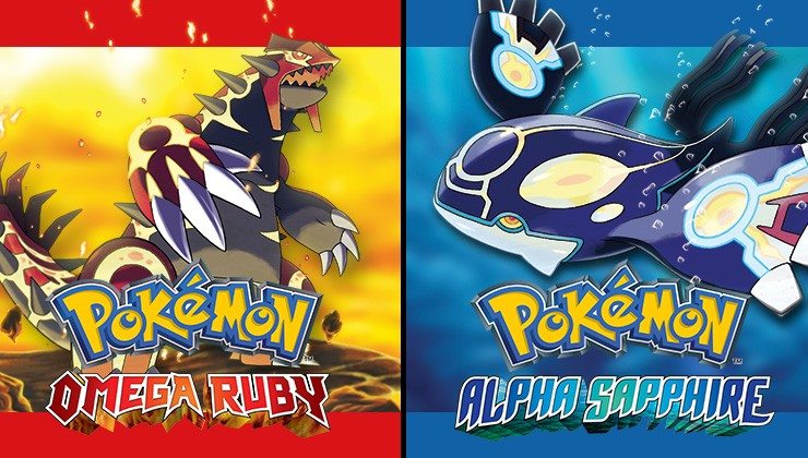 Pokemon Alpha Sapphire/ Omega Ruby