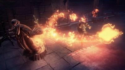 Dark Souls 3 fires
