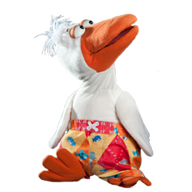 Ventriloquist Duck Puppet