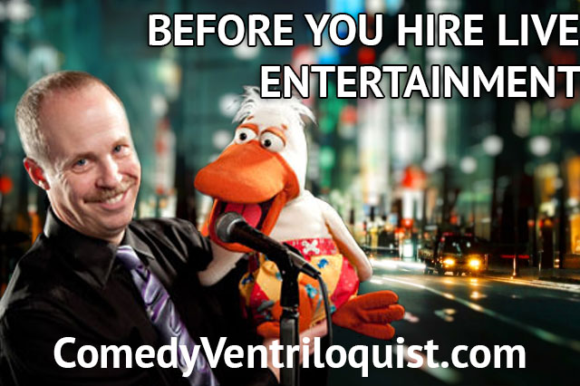 Before You Hire Live Entertainment