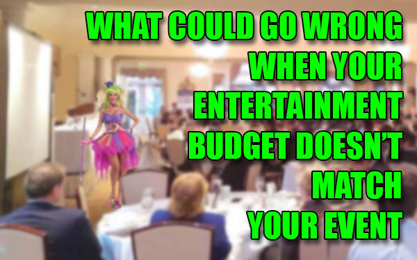 corporate entertainment budget